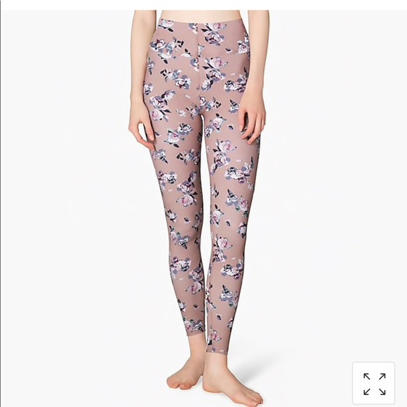 9e53057915c287 Beyond Yoga Pants   Olympus Floral Hw Midi Legging   Poshmark